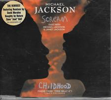 MICHAEL JACKSON - Scream (STICKERED CASE!!) CDM 5TR Europe 1995 (Epic)