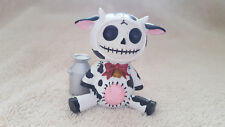 Furrybones Moo Moo the Cow Figurine Skull in Costume Collect New Free Shipping