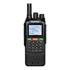 Two Way Radio Walkie Talkie 10W GPS Dual Band VHF UHF PMR Long Range Transceiver