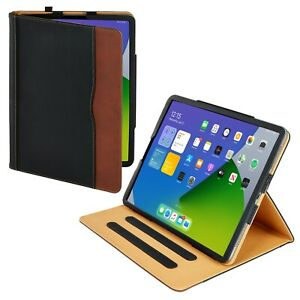 S-Tech iPad Pro 12.9 Soft Leather Case Magnetic Smart Cover for Apple