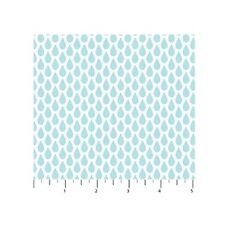 Flannel Fabric - Once Upon A Cloud Nursery Baby Raindrop Blue - Northcott YARD