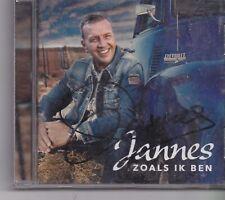 Jannes-Zoals Ik Ben cd album gesigneerd