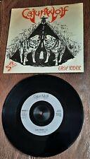 "CAJUN WOLF EASY RIDER 1990 7"" SINGLE NEW WAVE BRITISH HEAVY METAL / BLUES ROCK"