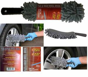 Martin Cox Professional Flexi Microfibre Wheel Cleaning Brush Soft No Metal