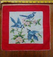 Blue Jays Vintage Handkerchief Red Multi-color