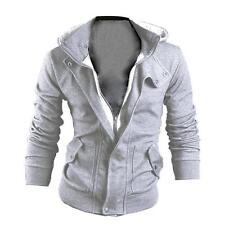 Men's Winter Slim Hoodie Warm Coat Hooded Sweatshirt Coat Jacket Outwear Sweater