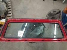 Jeep TJ Wrangler OEM Windshield Frame PR4 Flame Red Paint Clean 97-02 11916