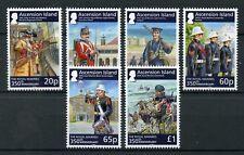 Ascension Island 2014 MNH Royal Marines 350th 6v Gallipoli Military Stamps