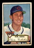 1952 Topps #259 Bob Addis  F X1609964