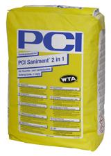 PCI Saniment® 2 in 1 Sanierputzmörtel für feuchte- und salzbelastete Untergründe
