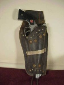 NICHOLS STALLION 45 MARK II CAP GUN W/ HOLSTER