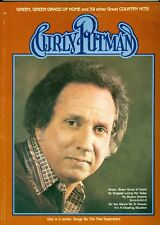 Curly Putman songbook shee music green grass of home He stopped loving her today