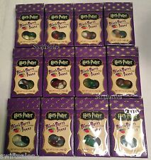 12 Packs Jelly Belly Harry Potter Bertie Bott's Beans Every Flavour 1.2oz Fresh!