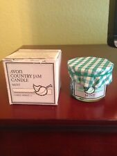 Avon Country Jam Candle - Mint - 1985