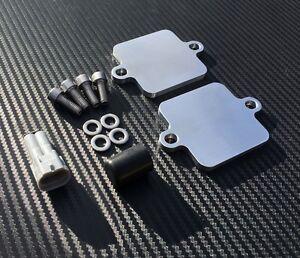 ZX14R PAIR Blanking Plates SMOG Block Off Eliminator Kit Kawasaki ZZR1400 ZX14