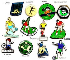 Lot 12 Pin's_Football_Club Auvergne_VICHY