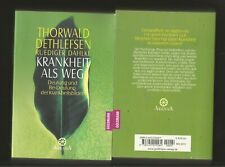 KRANKHEIT ALS WEG. Ruediger Dahlke,  Thorwald Dethlefsen. Taschenbuch,  Sehr gut.