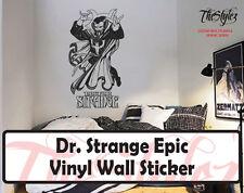 Dr. Strange Epic Silhouette Oversize Vinyl Wall Sticker
