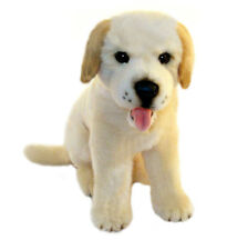 Labrador Yellow  Plush Stuffed Toy Dog 23cm/9in Cher by Bocchetta