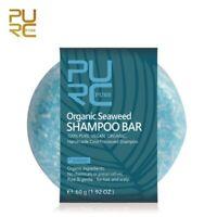 Seaweed Shampoo Bar Cold Processed Hair Shampoo Anti-dandruff and Nourish Hair