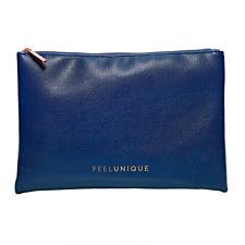NEW Feelunique Navy & Rose Gold Makeup Bag