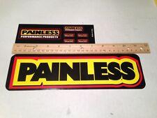 Painless Wiring Decal,Painless Logo Sticker, Sticker Decoration, Painless