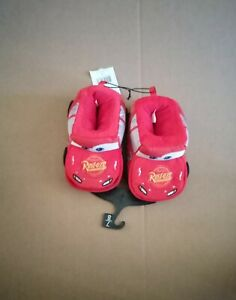 Disney Lightning McQueen kids slippers - new with tags  US size 7/8