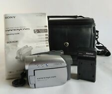 Sony Handycam DCR-HC28 20× Optical Zoom New Battery & Charger + Bag/Instructions