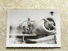 RARE CHINA Photos Pilot African American Soldier Vintage COPY Photo