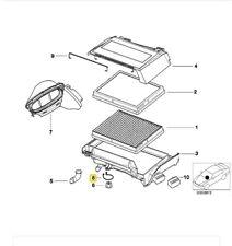 Genuine BMW E39 A/C Cabin Micro Air Filter Housing Clamp 64318371465