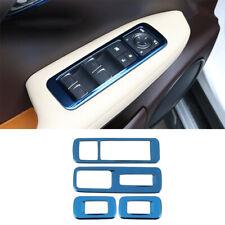 For Lexus RX300 450H 16-20 Blue titanium Window lift panel switch cover trim