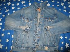 Abercrombie And Fitch Men Jean Jacket Size L