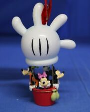 "Mickey Mouse Clubhouse Balloon 5"" Resin Christmas Ornament 2008 Disney Store"
