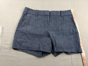 Lands' End - Stretch Shorts - Women - Petites - 6 - Blue