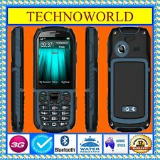 Unlocked Telstra Tough 2 ZTE 54 3g Blue Tick Water/dust/shock Resistant Rugged