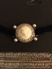 NWT Vintage look  choker necklace cameo