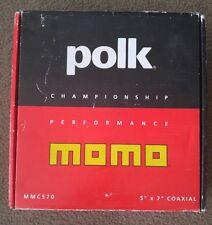 POLK AUDIO MOMO MMC570 CHAMPIONSHIP PERFORMANCE SPEAKERS 5X7 Old School