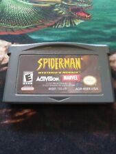 Spider-Man: Mysterio's Menace (Game Boy Advance, 2001) [TESTED CART ONLY]