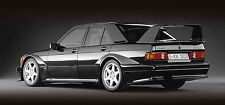 Mercedes 190e Cosworth - 30x14 Inch Canvas - Framed Picture Print