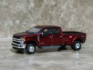 Ertl 1/64 Greenlight Metallic Red Ford F-350 King Ranch Pickup Truck Farm Toy