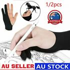 Two-fingers Artist Anti-touch Glove for Drawing Tablet Right and Left Hand OD