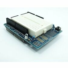 Prototype Prototyping Shield Mini Breadboard For Arduino UNO R3 with LED New