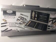 Royal and Langnickel Sketching and Drawing Kit Beginners Box Kids Art Set 66 pcs