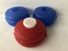 Tupperware Bagel Sandwich Salad Keepers Lunch Box Containers Set of 3 + Smidget