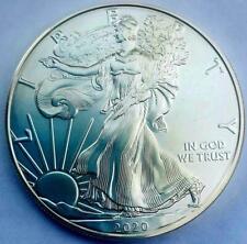 2020 American Silver Eagle $1 Pure Silver Coin GEM BU