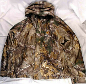 ScentLok Waterproof Insulated Hooded Jacket Realtree Xtra Camo 86010-056 2XL