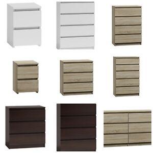 MODERN - Chest Of Drawers Bedroom Furniture Storage Bedside 2/3/4/5/6/8 Draws