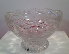 Beautiful Crystal Rose Bowl Center Piece Table Decor