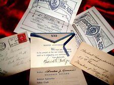 Pre-WW2 MASONIC PHILADELPHIA LODGE NOSTALGIA! 5 ITEMS! Decorative MEMORABILIA!!
