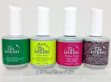 IBD Just Gel Polish-Set of any 4 bottles .5oz- Choose From Base/Top/Colors/Bond